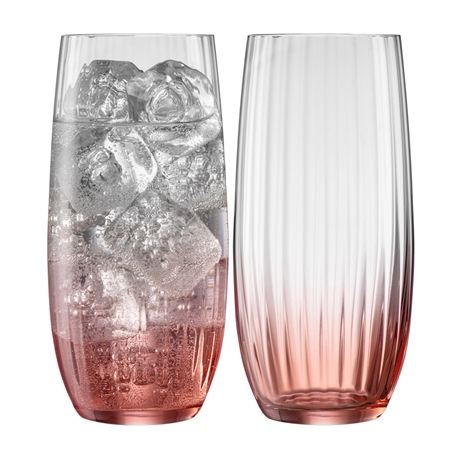 Galway Living Erne Hiball Set of 2 in Blush  Galway Living - Erne Blush - Click to view a larger image