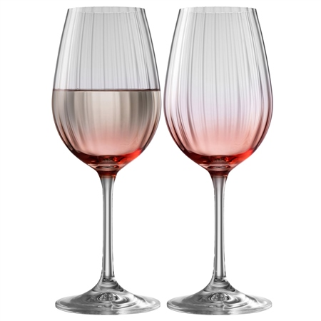 Galway Living Erne Wine Set of 2 in Blush Galway Living - Erne Blush - Click to view a larger image
