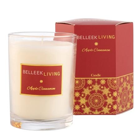 Belleek Living Apple Cinnamon Candle Belleek Living Home Fragrances - Apple Cinnamon Candle - Click to view a larger image