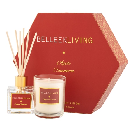 Belleek Living Apple Cinnamon Gift Set Belleek Living Home Fragrances - Apple Cinnamon Gift Set - Click to view a larger image
