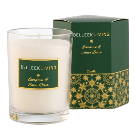 Belleek Living Evergreen & Silver Birch Candle Belleek Living Home Fragrance - Evergreen  Silver Birch Candle - Click to view a larger image