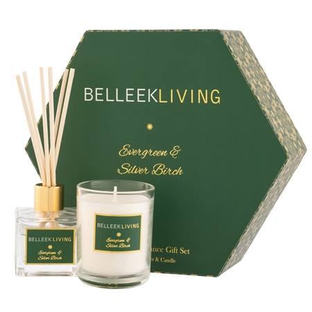 Belleek Living Evergreen & Silver Birch Gift Set Belleek Living Home Fragrance - Evergreen  Silver Birch - Click to view a larger image