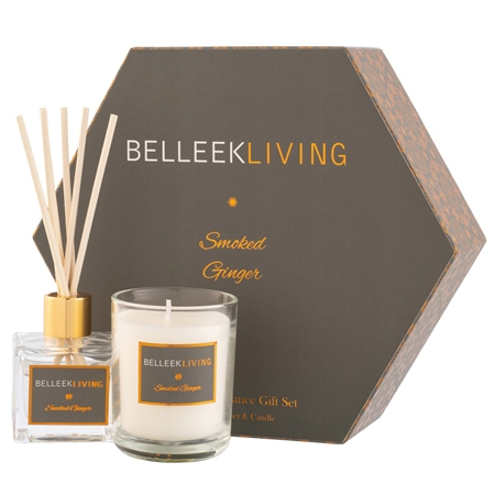 Belleek Living Smoked Ginger Gift Set Belleek Living Home Fragrances - Smoked Ginger - Click to view a larger image