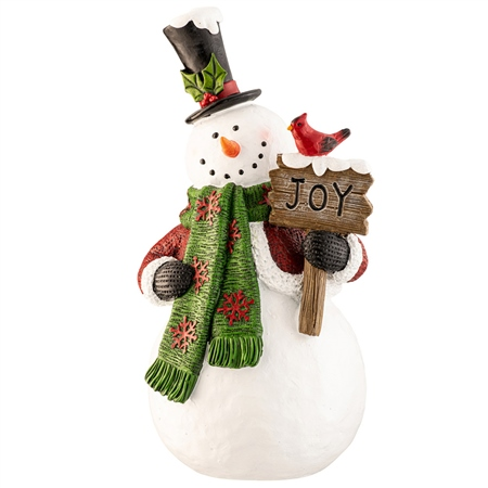 Aynsley Joy Snowman Aynsley Figurines - Joy Snowman - Click to view a larger image