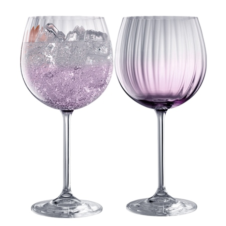 Galway Living Erne Gin & Tonic Pair Amethyst Galway Living - Erne Gin Tonic Amethyst - Click to view a larger image