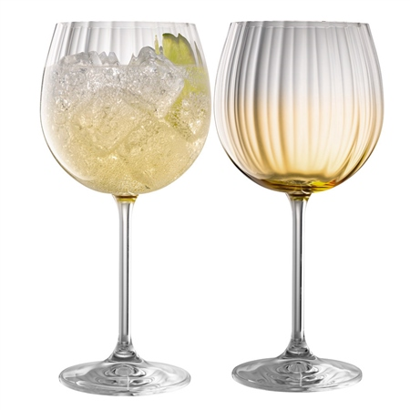 Galway Living Erne Gin & Tonic Pair Amber Galway Living - Erne Gin  Tonic Amber - Click to view a larger image