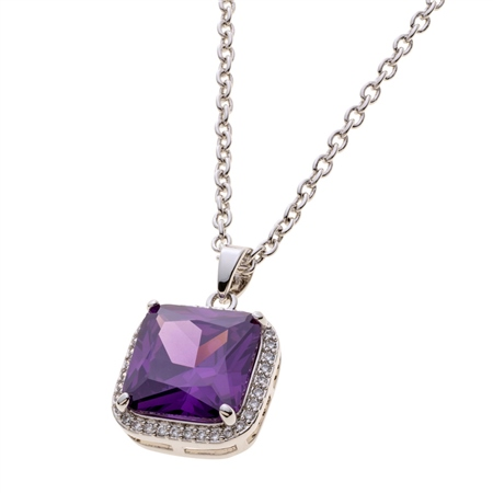 Belleek Living Jewellery Amethyst Necklace Belleek Living Jewellery Amethyst Necklace - Click to view a larger image