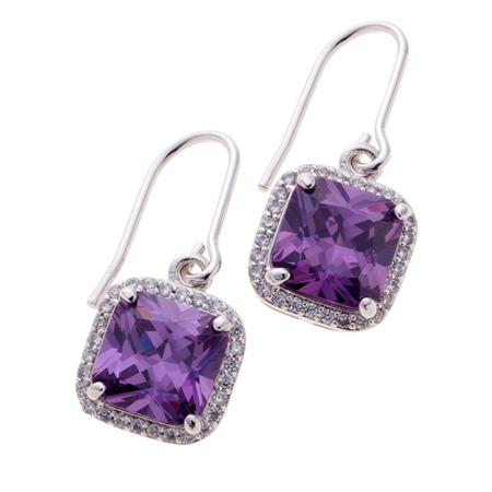Belleek Living Jewellery Amethyst Earrings Belleek Living Jewellery Amethyst Earrings - Click to view a larger image