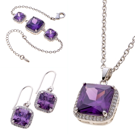 Belleek Living Jewellery Amethyst Collection Belleek Living Jewellery - Amethyst Collection - Click to view a larger image