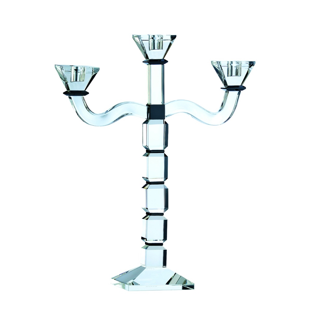 Galway Living Deco 3 Arm Candleabra 1