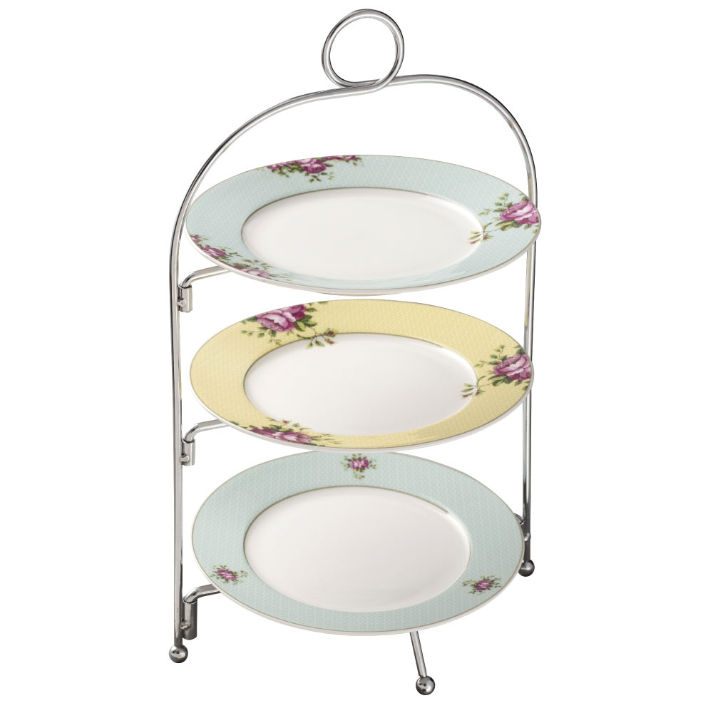 Aynsley Archive Rose Three Tier Server Stand 1