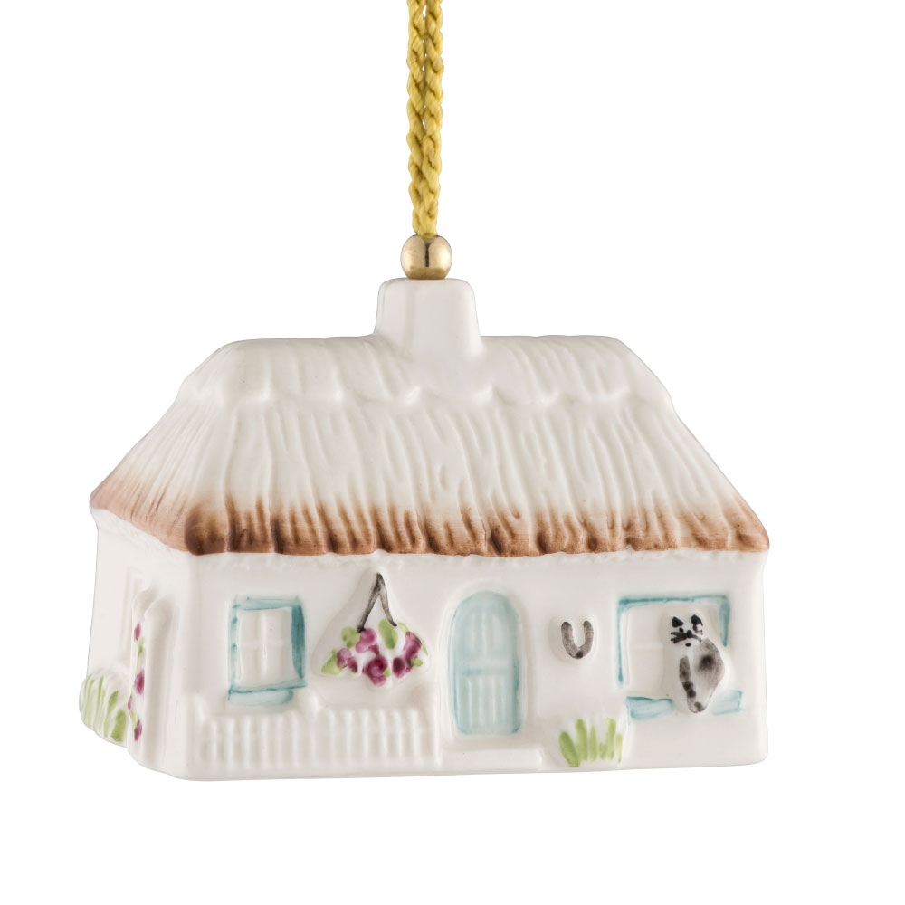 The Christmas Cottage 2019.Azalea Cottage Annual Bell Ornament 2019