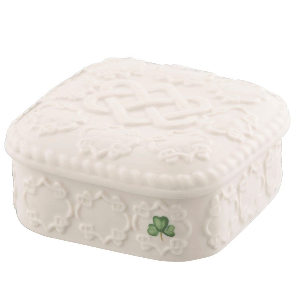 Belleek Classic Edition Piece 2019 Love Knot Gift Box 1
