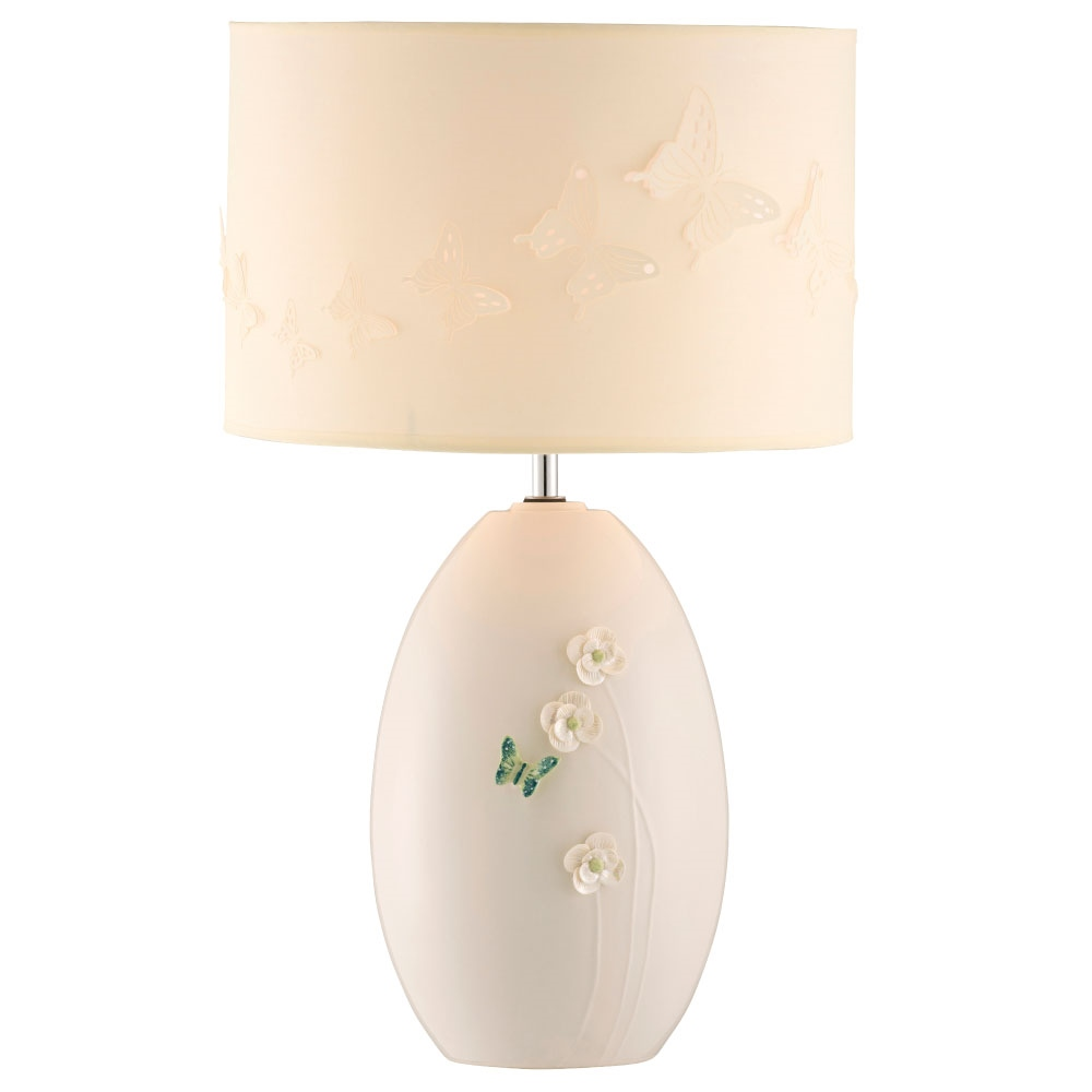 Belleek Living Colour Collection - Jade Lamp 1