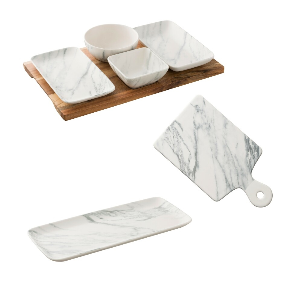 Marble Party Tableware Set