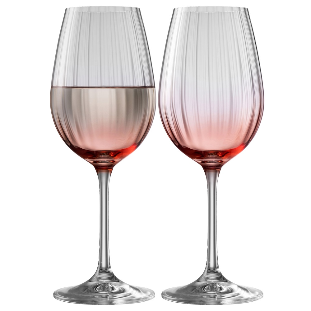 Galway Living Erne Wine Set of 2 in Blush 1