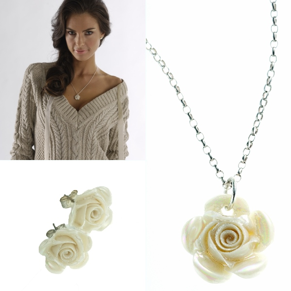 Belleek Classic Jewellery Rose Collection  1