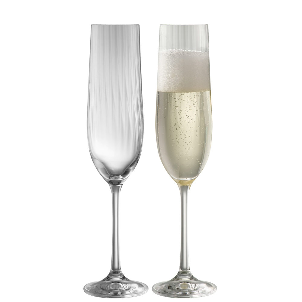 Erne Champagne Flute Pair