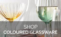 Shop Coloured Glassware