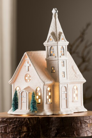 Belleek Living Church Luminaire